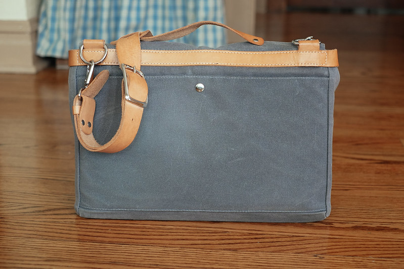 Ugmonk Messenger Bag back and top handle