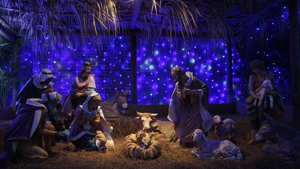 Nativity Scene | One of the christmas displays at The Osborn ...