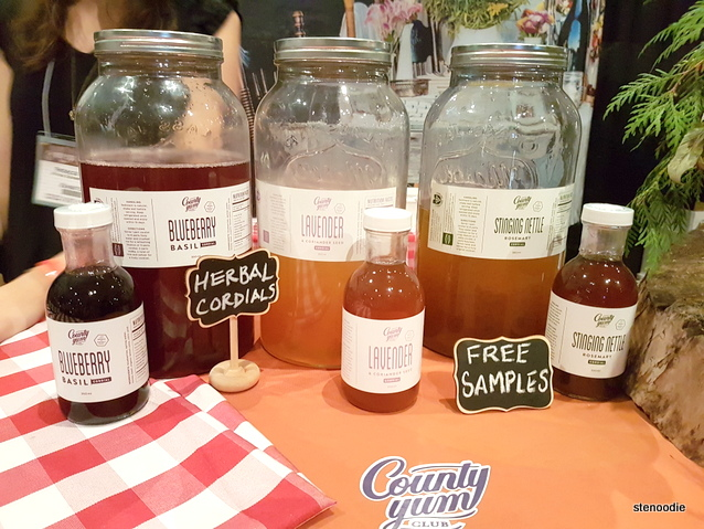 County Yum Club Herbal Cordials