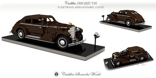 Cadillac 1933 452C Fleetwood Aero-Dynamic Coupe Study