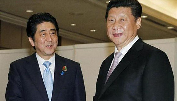 Media: G20 summits Abe shook hands in English greeted XI