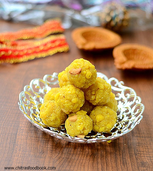 Boondi ladoo recipe south indian boondhi laddu diwali sweets boondi ladoo forumfinder
