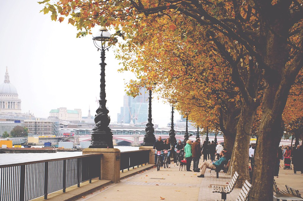 Londen is de perfecte bestemming voor een weekendbreak in de herfst | via It's Travel O'Clock
