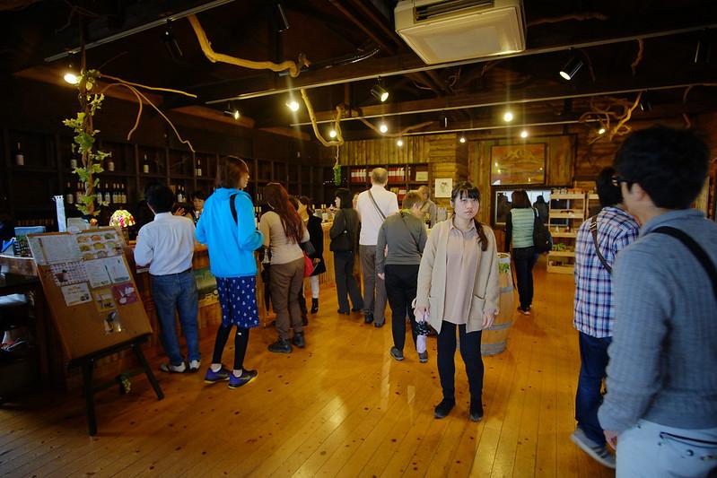 Kuju Winery Cellar