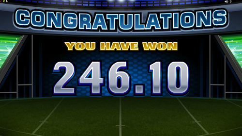 Rugby Star Free Spins Win