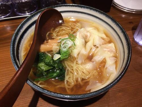 醤油わんたん麺 えびす@恵比寿ガーデンプレイス