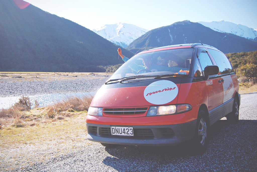 Roadtripping in New Zealand with Spaceships | via It's Travel O'Clock