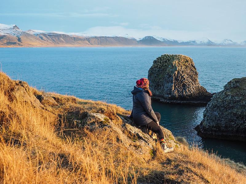 Amanda in Iceland