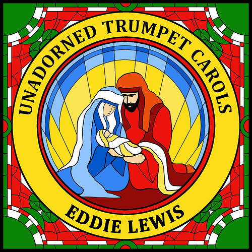 Unadorned Trumpet Carols Cover