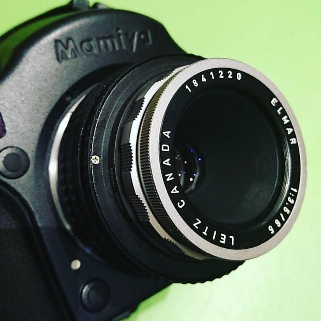 Leica Elmar 65mm f3.5 中片幅試玩