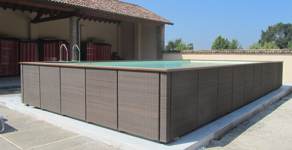 Dolcevita rattan 510 5 piscina dolcevita rattan fuori terr flickr - Piscine fuori terra usate laghetto ...