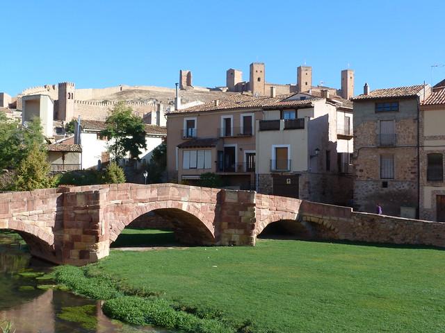 Puente Viejo en Molina de Aragón (Guadalajara)