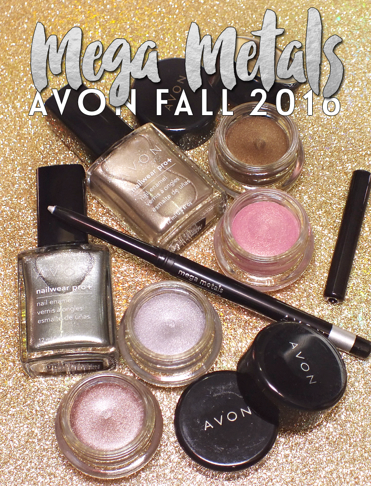 avon mega metals collection fall 2016