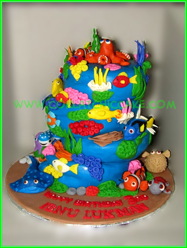 cake under the sea