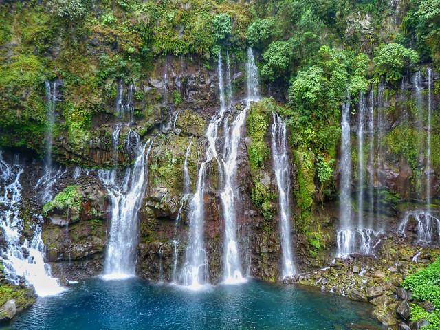 Cascada Grand Galet (Langevin, Isla Reunión)