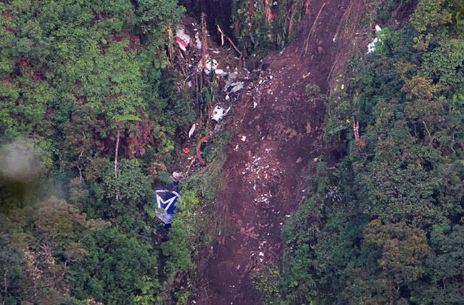 Mount Salak Plane Crash