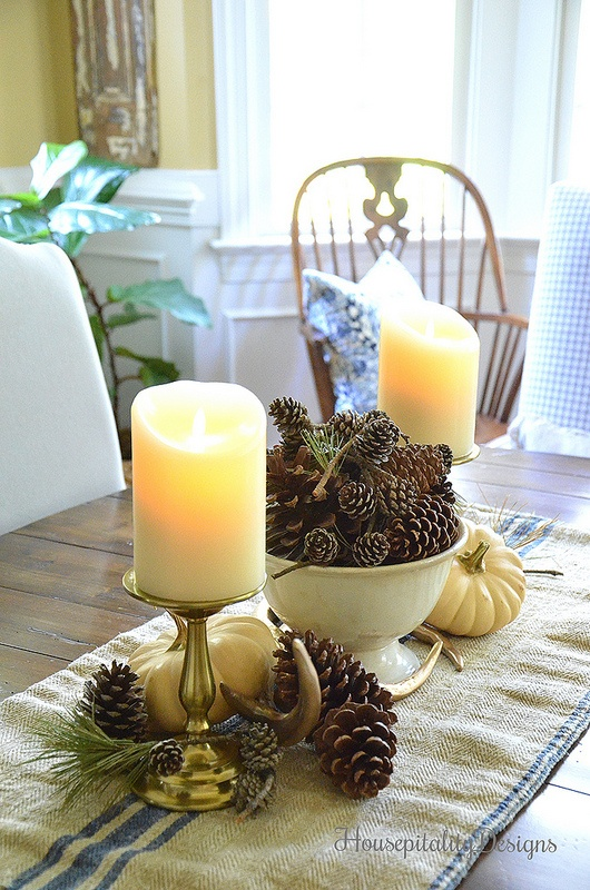 Fall Centerpiece - Housepitality Designs