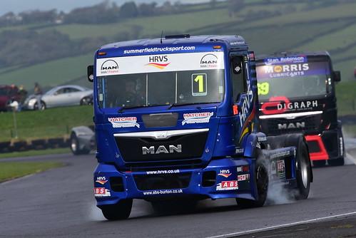 Mat Summerfield, MAN TGX 12000, British Truck Racing Championship, Pembrey 2016
