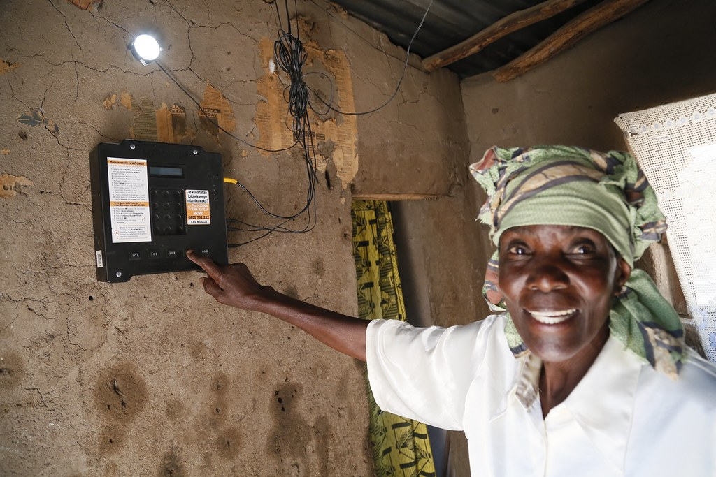Elizabeth Mukwimba An M Power Solar Customer In Tanzania