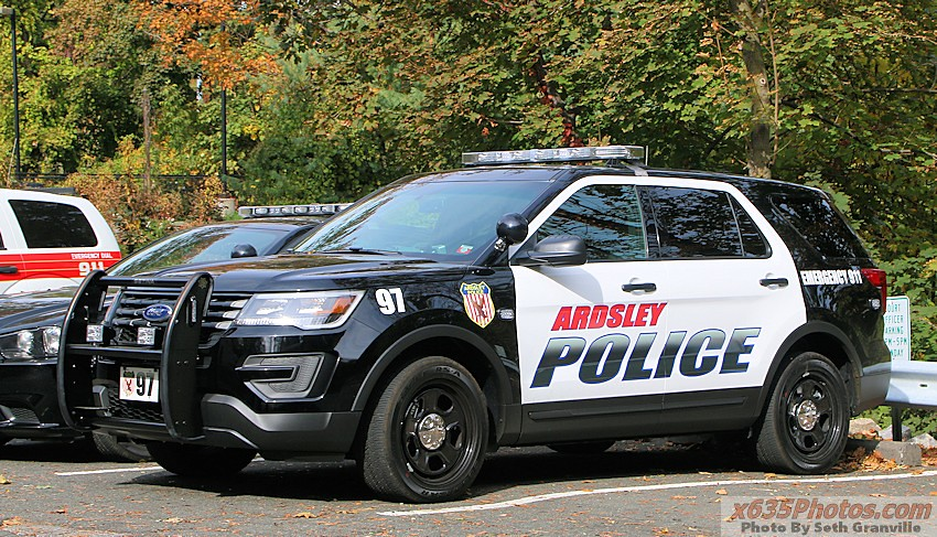 Ardsley (NY) Police Department Car 97 | 2016 Ford Police ...
