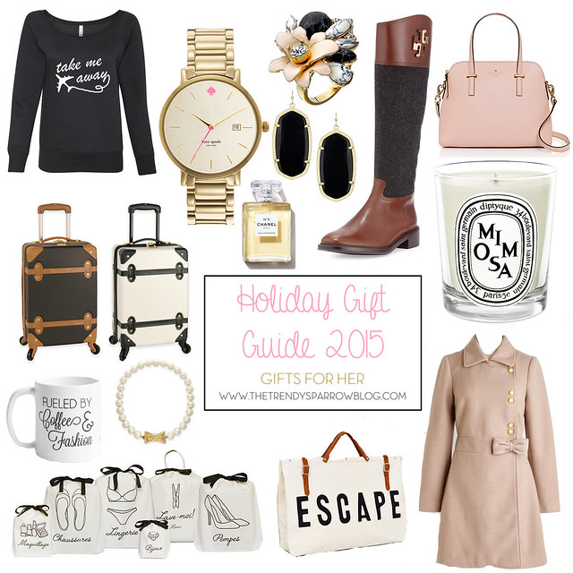 the trendy sparrow holiday gift guide 2015 gifts for her