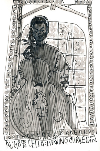 Sketchbook #100: Everyday Cello