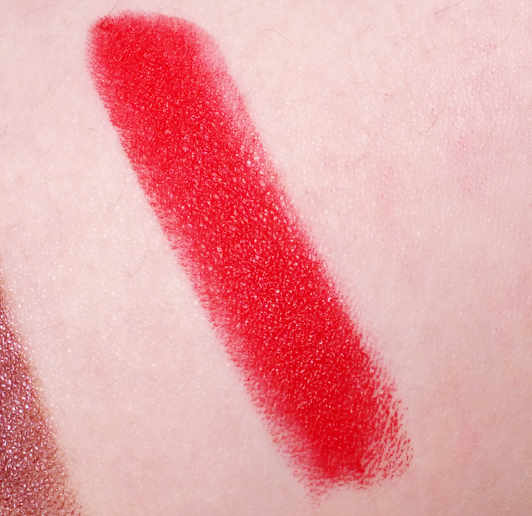 mirabella masquerade collection modern matte lipstick crimson