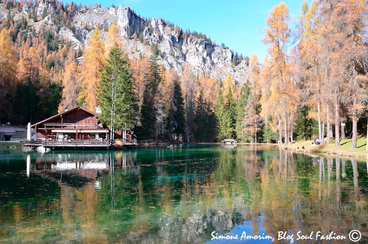 O lindo lago Ghedina! Amo.