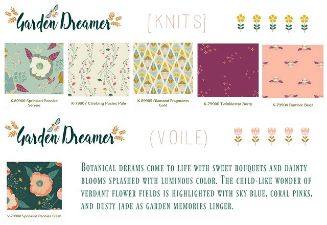 Garden Dreamer Knits and Voile