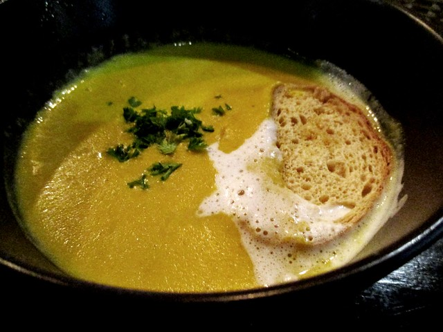 N2 Casual Dining pumpkin soup