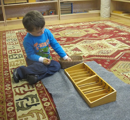 counting and number correspondence with spindle boxes