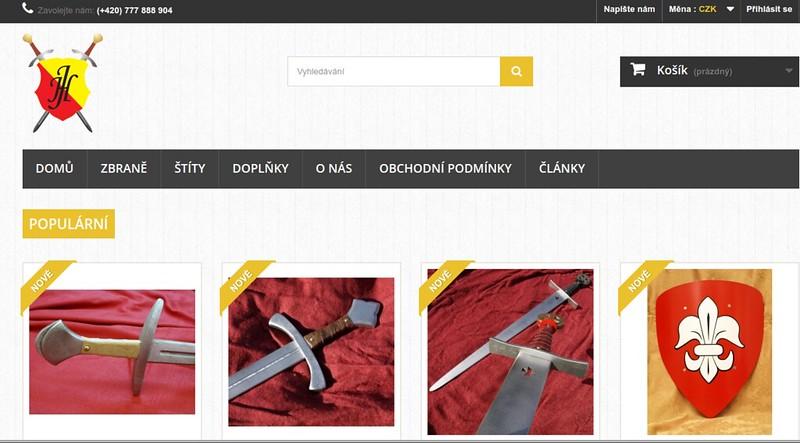 dřevěné meče cz - místo vyzívající k nákupu dřevěných mečů, rytířských štítů s erby a rytiříských doplňků pro malé rytíře