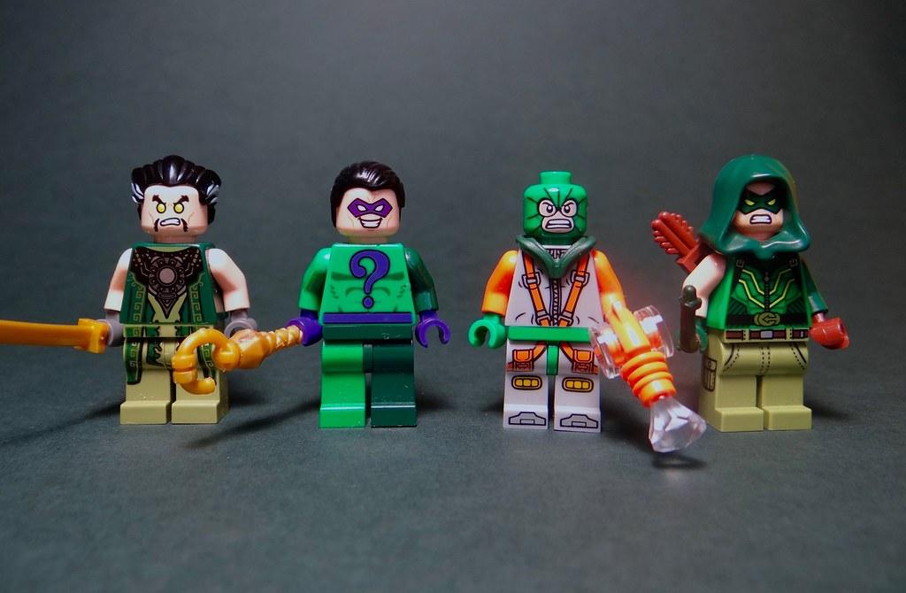 Lego Dc Universe Minifigures 2 Seeing Green Ra S Al