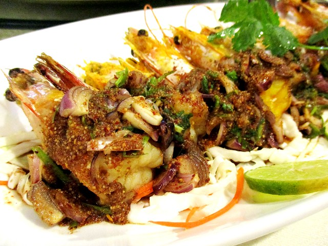 Flavours Thai Kitchen prawns