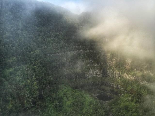 Isla Reunión en helicóptero