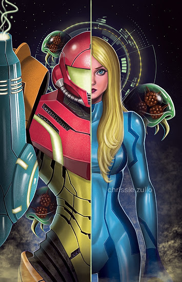 Samus by Chrissie Zullo