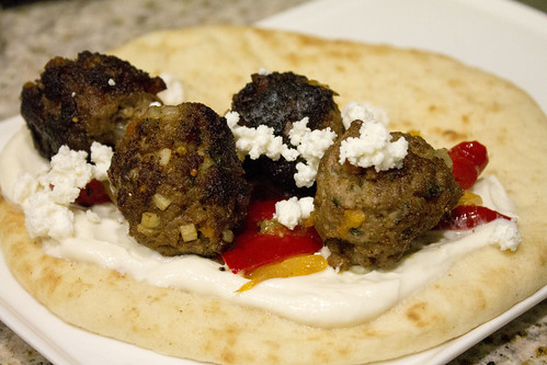 Lamb kofta. Photo by Tom Ipri