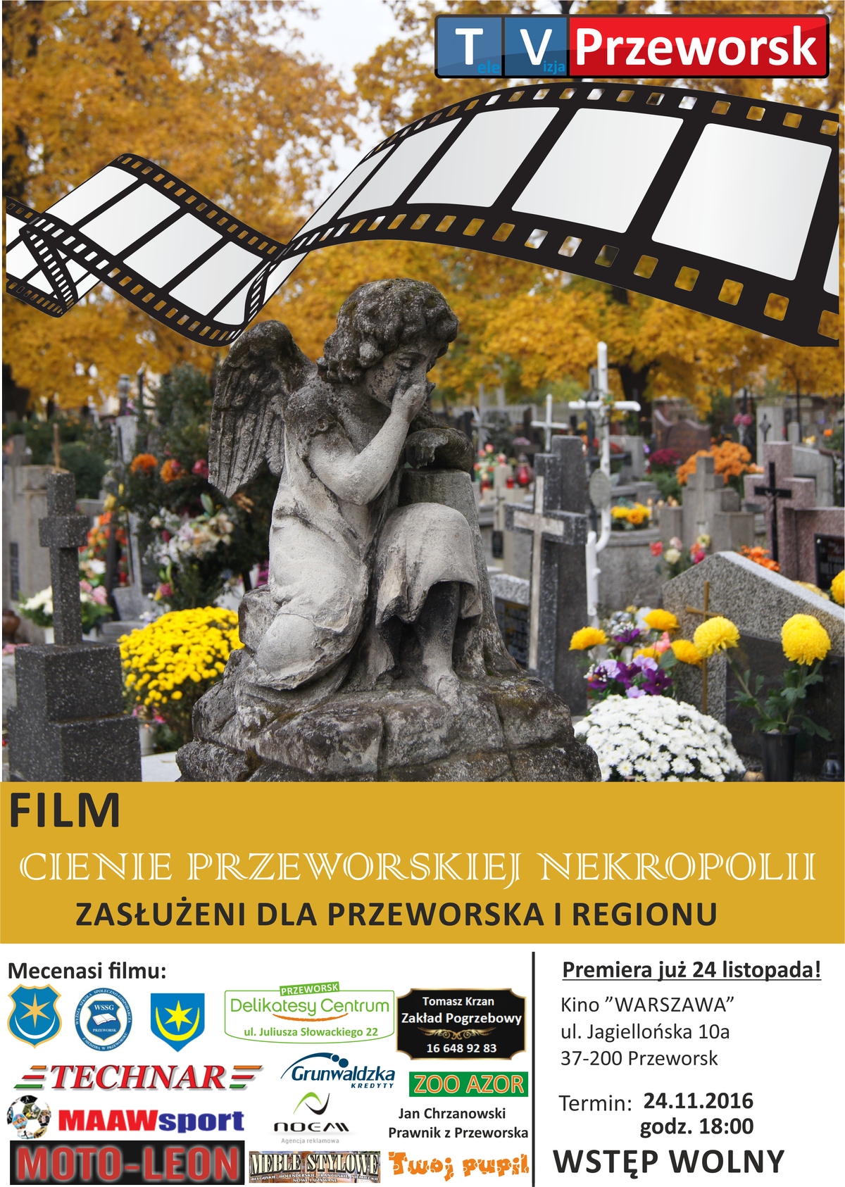 FILM – CIENIE PRZEWORSKIEJ NEKROPOLII