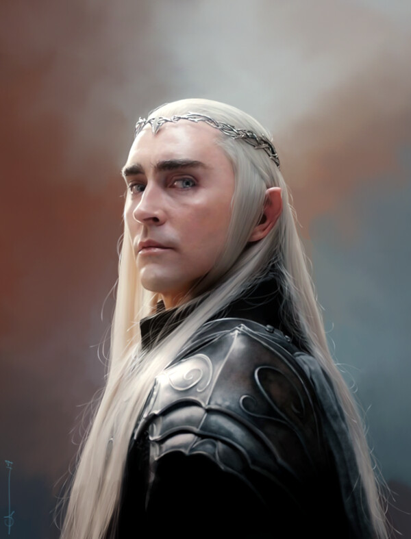 The Hobbit - Thranduil by euclase