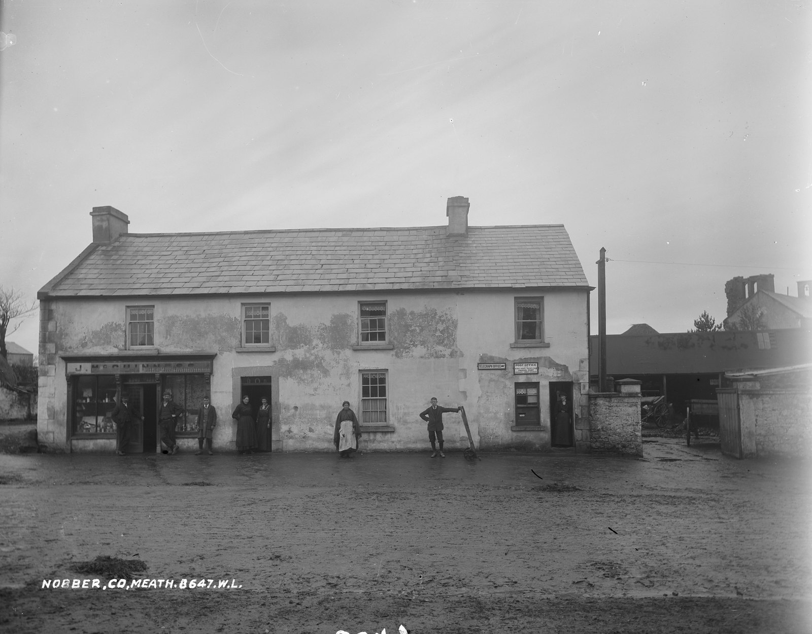 McGuinness's Shop, Nobber, Co. Meath | by National Library of Ireland on The Commons