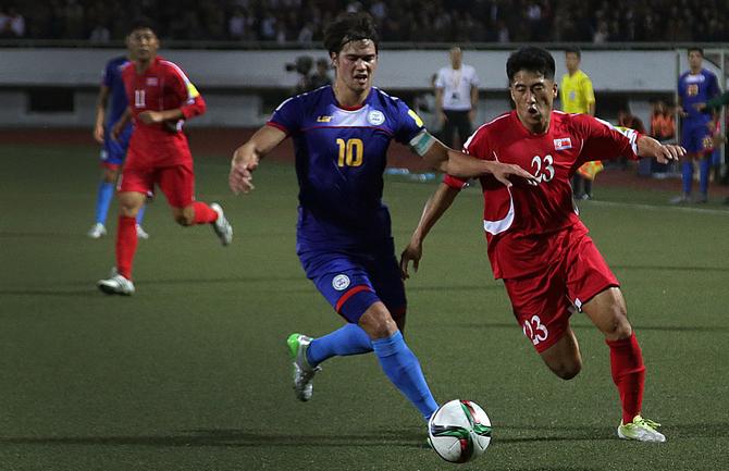 квалификация ЧМ-2018 Азия, сборная Вьетнама, сборная Йемена, сборная Таиланда, ЧМ-2018, сборная Лаоса, ФИФА, сборная Сирии, Азиатская футбольная конфедерация, сборная КНДР
