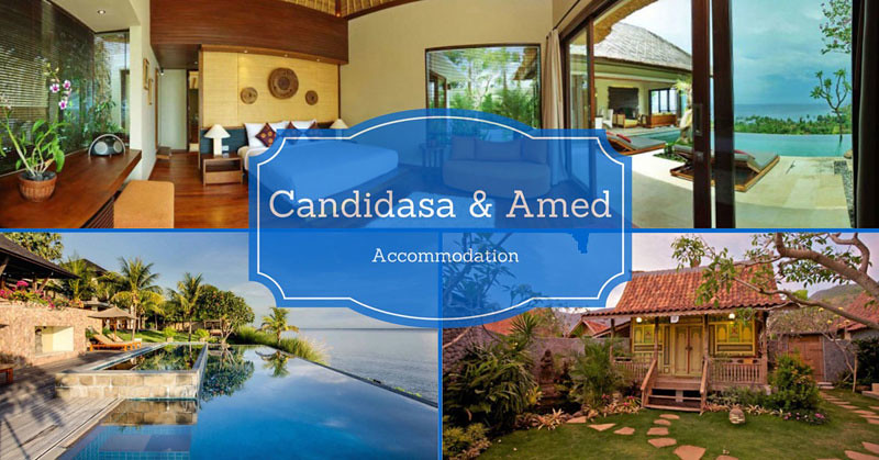 Candidasa Amed Accomodation