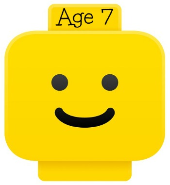 LEGO smiley head for age 7