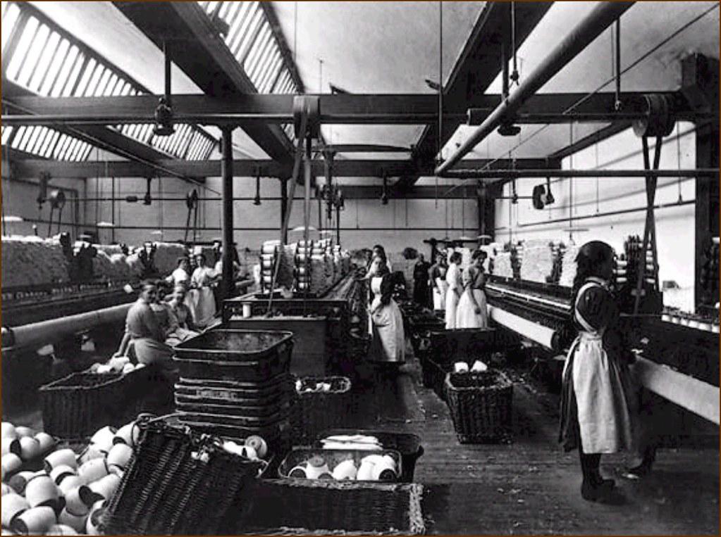 美国工业革命时期的纺织工厂是第一代女性工运的发源地,但这样的经验却难以在经济后进发展的社会中自然复制。(照片来源:Boott Cotton Mills Museum)