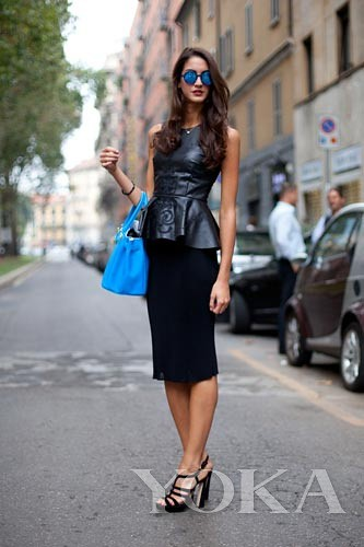 Foreign fashion week Street style fashion