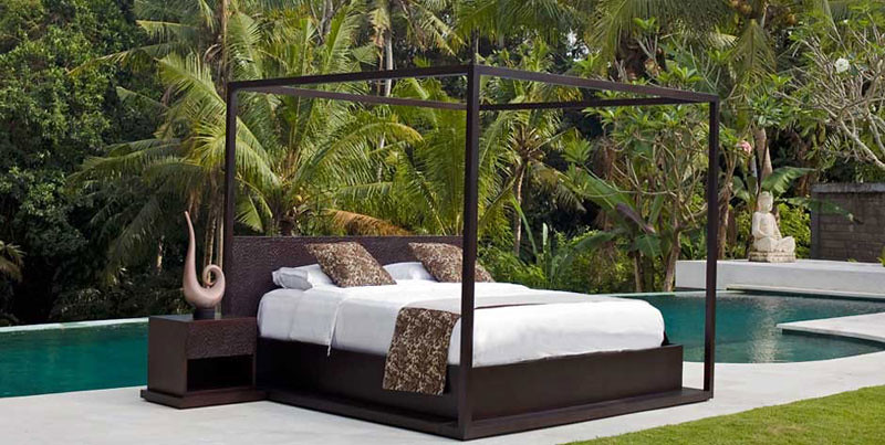 in terms of design inspiration we draw on the daily experience of living in this awe inspiring archipelago the intricate weave of a basket used to - Bali Bedroom Design