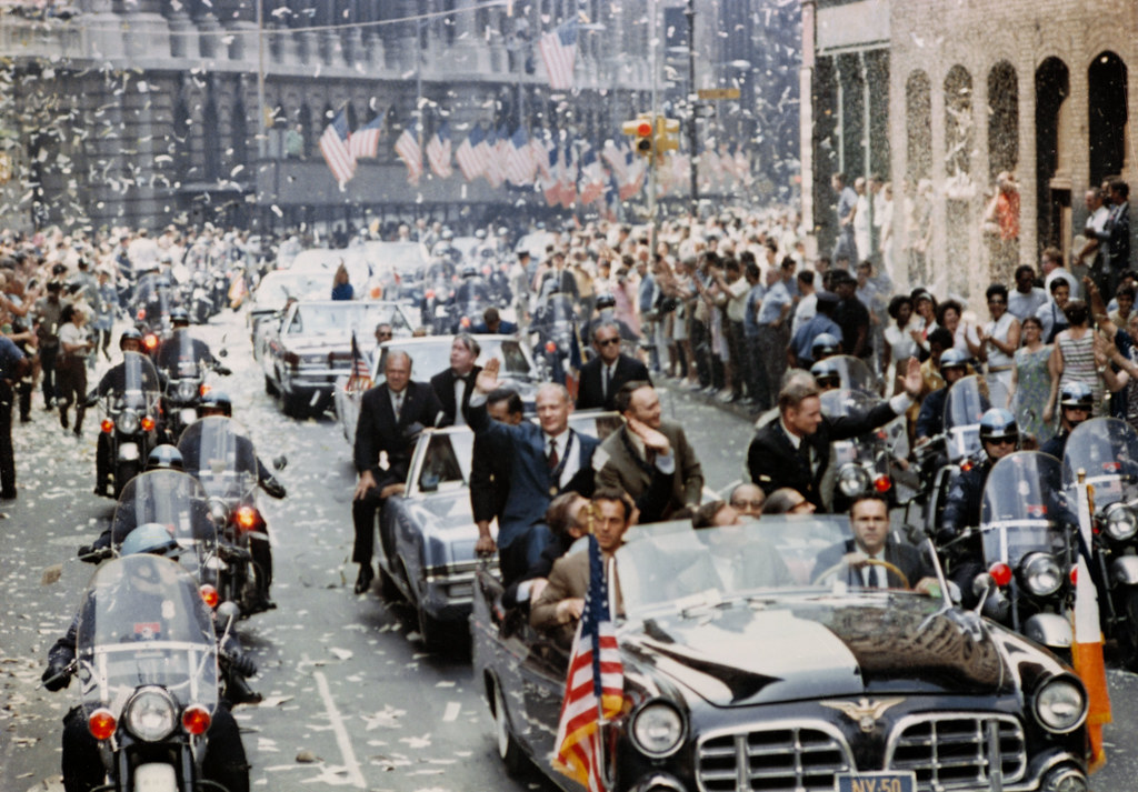 New York City Ticker Tape Parade for Apollo 11