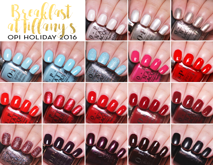 opi holiday 2016 breakfast at tiffany's swatches (1)