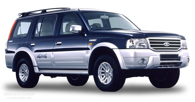 Ford Everest. Just another version of the Mazda B-series pickups.