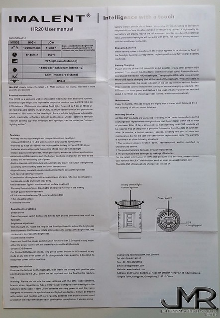 review imalent hr20 xp l hi rechargeable headlamp rh budgetlightforum com DirecTV HD DVR Specs DirecTV HD DVR Specs